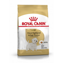 Westie Adult breed health nutrition 3kg - ROYAL CANIN