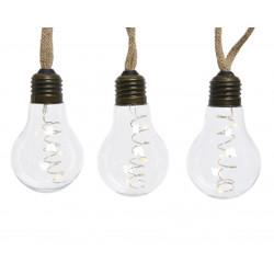 Ampoule corde microLED 270cm-30l blanc chaud - LUMINEO