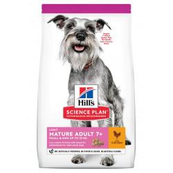 Mature Adult Light croquettes pour chien âgé au  - HILL'S