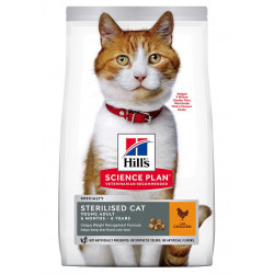 Young Adult Sterilised Cat croquettes pour chat  - HILL'S