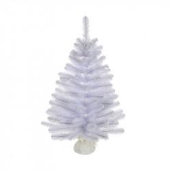 Sapin de Noël Icelandic 65 branches ø46-H60 blan - TRIUMPH TREE