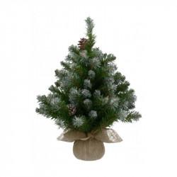 Sapin de Noël Empress givré 86 branches ø46-H60  - TRIUMPH TREE