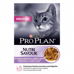 Sachet chats-delicate dinde sauce 85g - PURINA