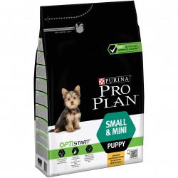 Croquettes small&mini puppy poulet&riz 3kg - PURINA