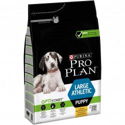 Croquettes large athletic puppy poulet&riz 3kg - PURINA