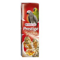 Sticks Perroquets Noix & Miel X2 Prestige 140G - VERSELE LAGA
