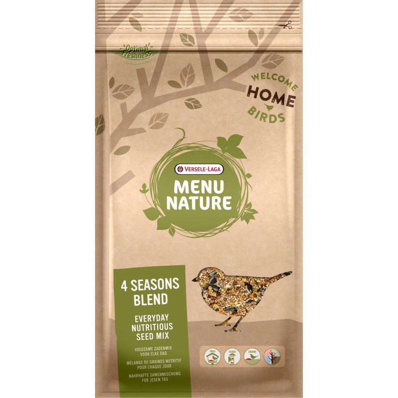 4 Seasons Blend Menu Nature 1Kg - VERSELE LAGA