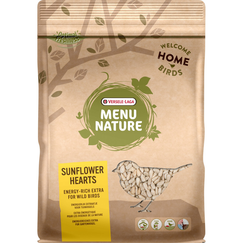 Sunflowerhearts Menu Nature 750G - VERSELE LAGA