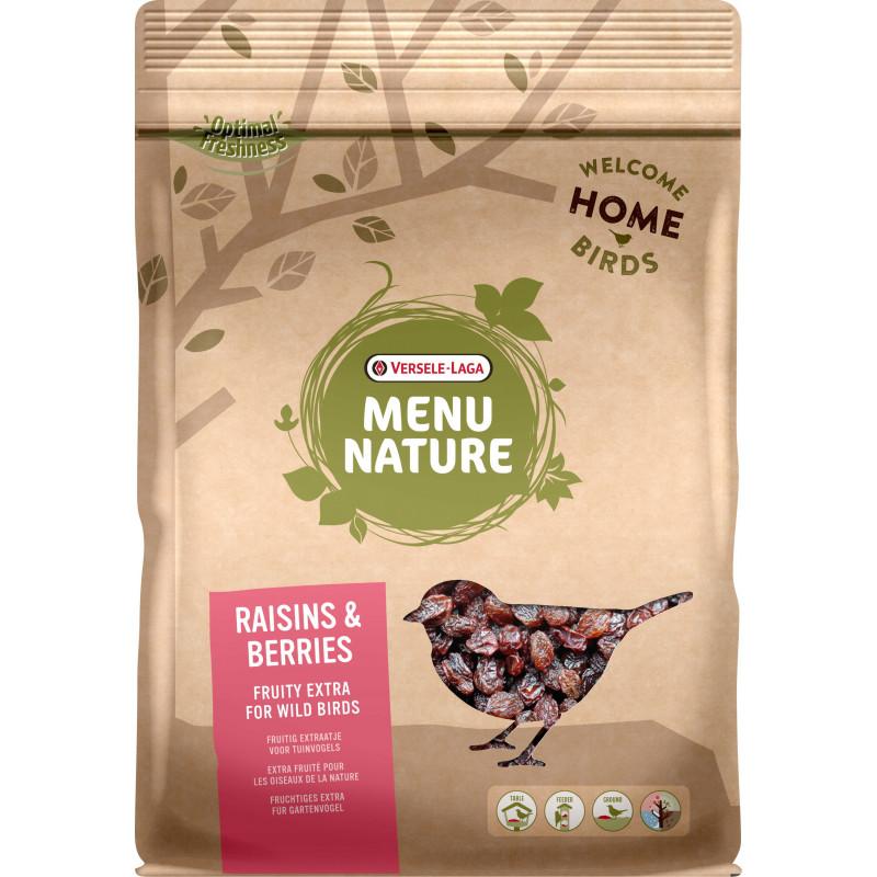 Raisins/Berries Menu Nature 600G - VERSELE LAGA
