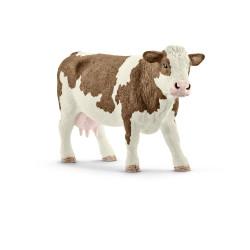 Vache simmental h17.5 - SCHLEICH
