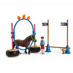 Course d'agility pour poney h6.6 - SCHLEICH