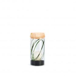 Verrine tube light S blanc