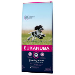 Croquettes Chiot race moyenne 12kg  - EUKANUBA