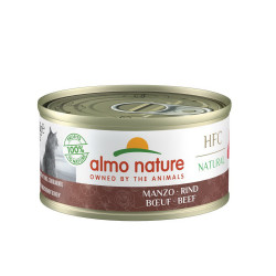 Aliment humide - natural boeuf 70g  - ALMO NATURE