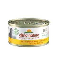 Aliment humide -  natural filet de poulet 70g  - ALMO NATURE
