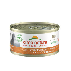 Aliment humide -  natural poulet avec fromage 70 - ALMO NATURE