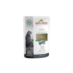 Aliment humide - sardine 55g  - ALMO NATURE