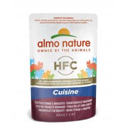 Aliment humide-  cuisine filet de thon et homard - ALMO NATURE