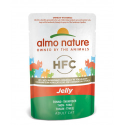 Aliment humide - gelée thon 55g  - ALMO NATURE
