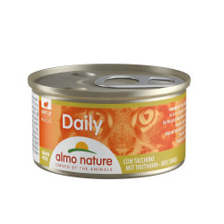 Aliment humide - mousse avec dinde 85g  - ALMO NATURE