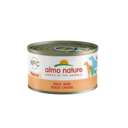 Aliment humide puppy avec poulet 95g  - ALMO NATURE