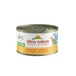 Aliment humide filet de poulet 95g  - ALMO NATURE