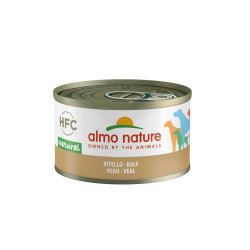 Aliment humide veau 95g  - ALMO NATURE
