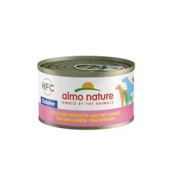 Aliment humide veau et jambon 95g  - ALMO NATURE