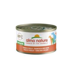 Aliment humide thon et poulet 95g  - ALMO NATURE