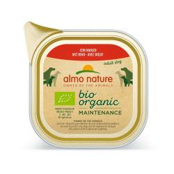 Aliment humide Bio organic boeuf 100g  - ALMO NATURE