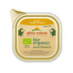 Aliment humide Bio organic poulet 100g  - ALMO NATURE