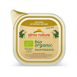 Aliment humide Bio organic dinde 100g  - ALMO NATURE