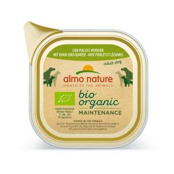 Aliment humide Bio organic poulet et legumes 100 - ALMO NATURE