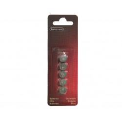 Pile bouton LR44/1.5v - LUMINEO