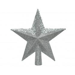Cimier étoile ø19x20 argent - DECORIS