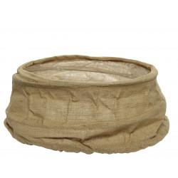 Cache pied sapin tissu pop up ø68x25 lin naturel - EVERLANDS