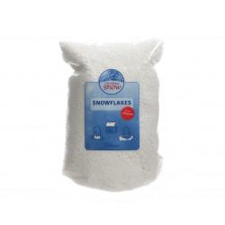 Flocon neige artificielle sac 60x45x39cm blanc - DECORIS