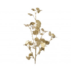 Tige branche gingko 28x70cm or mat - EVERLANDS