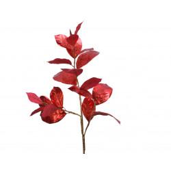 Branche feuill pailltt 33x14x92 rouge - EVERLANDS