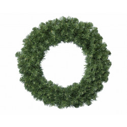 Couronne sapin artificiel ø50 vert - EVERLANDS