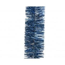 Guirlande lametta scintillante ø7.5x270 bleu - DECORIS