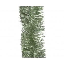 Guirlande lametta ø7.5x270 vert sauge - DECORIS
