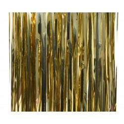 Lametta brillant 90x2m or clair - DECORIS