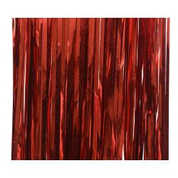 Lametta brillant 90x2m rouge - DECORIS