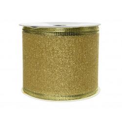 Ruban paillettes 270x6.3cm or clair - DECORIS