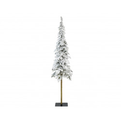 sapin artificiel Alpine enneigé 120cm vert - EVERLANDS