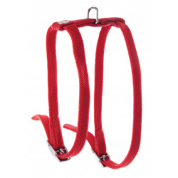 Harnais h nylon 10mm-35/40 Rouge - MARTIN SELLIER