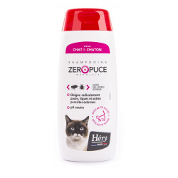 Shampoing zéro puce chat 200ml  - HERY