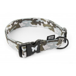Collier réglable camouflage 40mm-75/90 Gris - MARTIN SELLIER