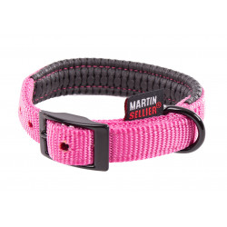 Collier droit 20mm-45 Rose - MARTIN SELLIER